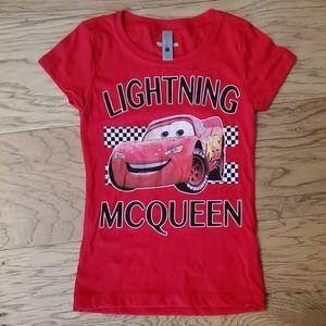 3/$15 NWOT Cars Lightning Mcqueen Shirt Disney